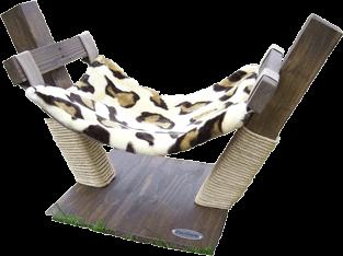 El modelo Jungla es una cómoda hamaca para tu gato