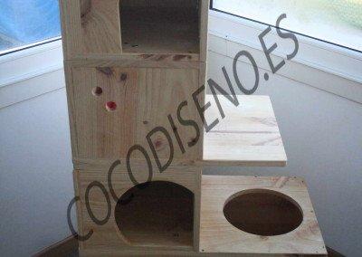 Cama Cueva, formato torre modular de CocoDiseño