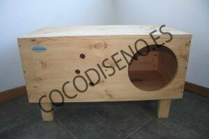 Cama Cueva modular de CocoDiseño