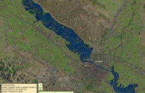 Crecida del Ebro 2015