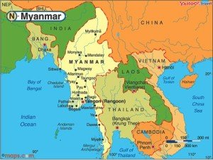 Mapa Sur Asiático