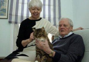 Pareja ancianos reencuentra a su gato incinerado