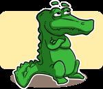 Salva a su perro de las mandíbulas de un cocodrilo