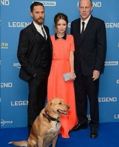 TOM HARDY PREMIERE LONDRES 1