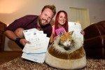 Cancelan su boda e invierten el dinero en salvar un gato callejero